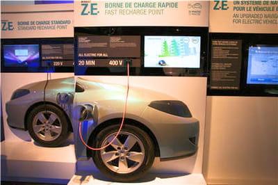démonstration desdifférents modes de recharge possibles
