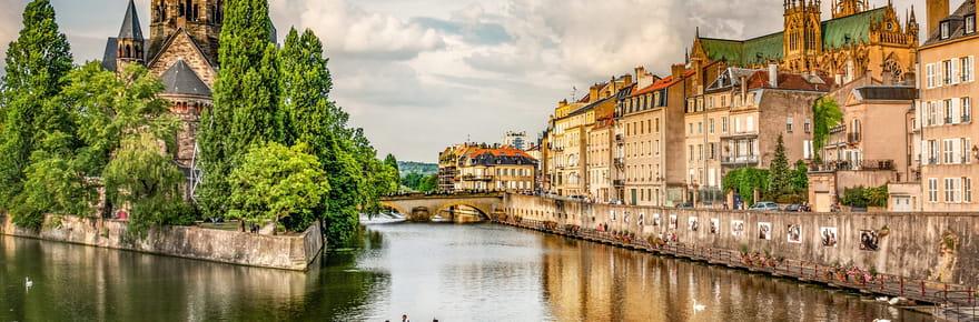 Metz, une ville impériale à l'architecture délicieuse
