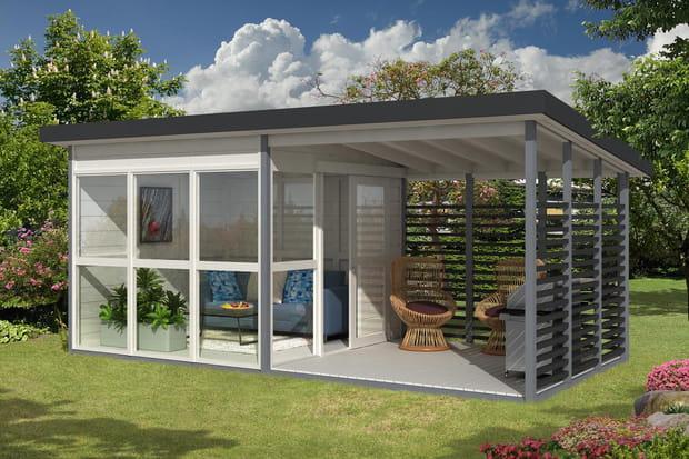 emma le bungalow design pour le jardin. Black Bedroom Furniture Sets. Home Design Ideas