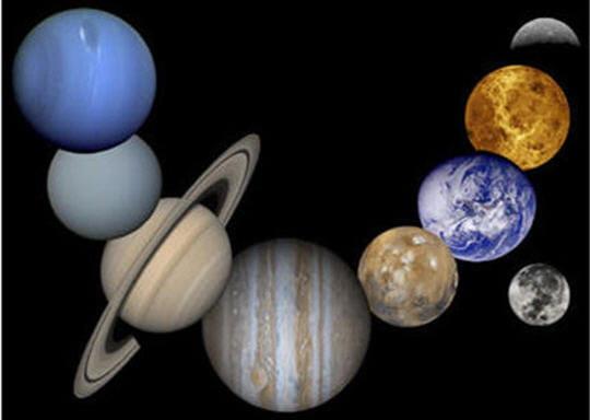 Explorez les planètes du système solaire