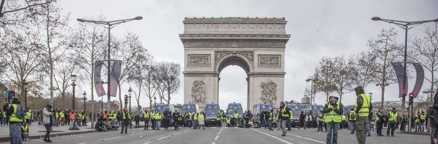 Arc de triomphe: réouverture, y aura-t-il un spectacle du Nouvel An?