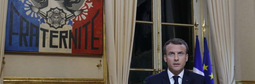 Interview de Macronsur TF1: pas de surprise, sauf dans le décor