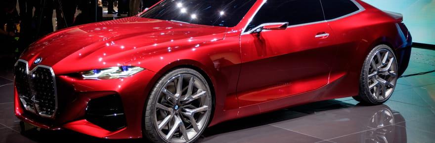 Le BMW Concept 4 divise le Salon de Francfort