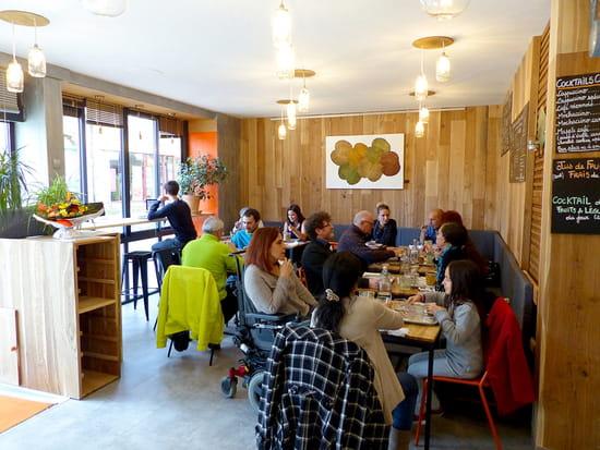 Restaurant : D'icidelà  - Intérieur -   © Julie Balcazar