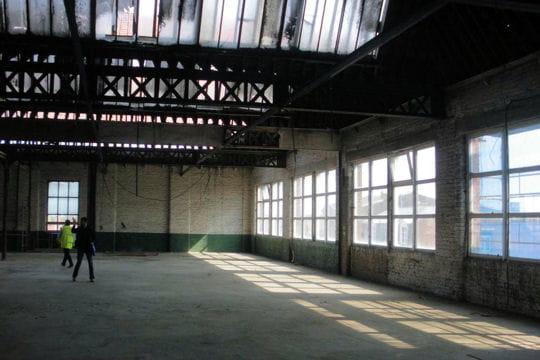 L 39 emplacement du futur loft - Loft usine ...