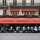 Restaurant : SOFA Café  - Façade -   © sofacafeparis9