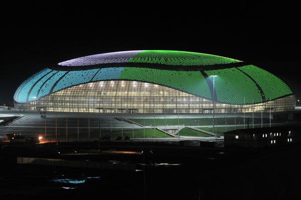 Le palais de glace Bolchoï pour le hockey