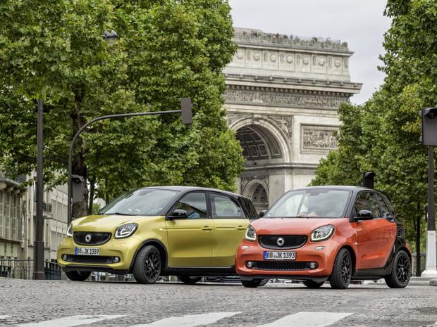 Voitures volées: la Clio talonne la Smart au classement 2018