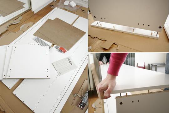 le meuble du r frig rateur. Black Bedroom Furniture Sets. Home Design Ideas