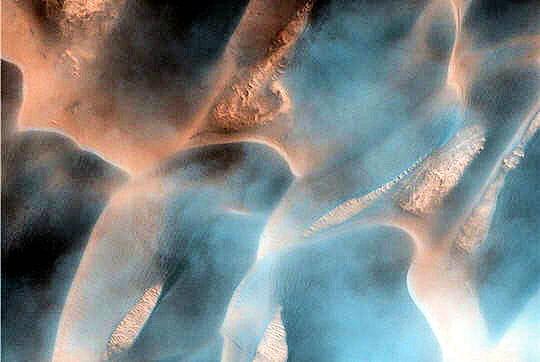 Le vent se lève sur les dunes