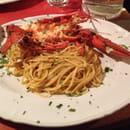Plat : Trattoria Pulcinella  - Pâtes aux homard  -