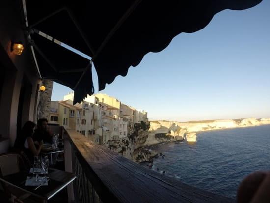 Restaurant : U Castille  - Vue de la terrasse  -