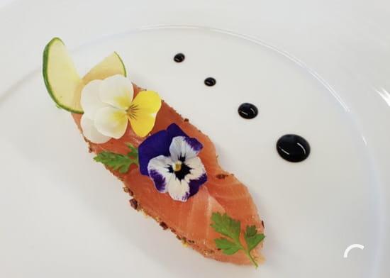 Entrée : Restaurant MC   © Saumon gravlax
