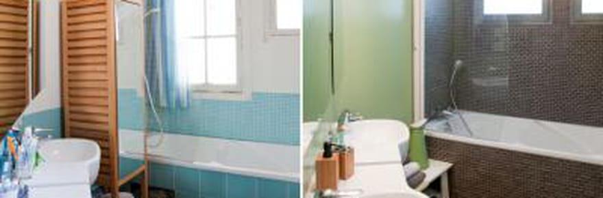 Avant/après : une salle de bains rénovée du sol au plafond