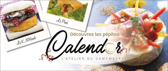 Restaurant : Calendor  - Camembert revisité et cuisiné, burgers, galettes, viandes, salades -   © Restaurant Spécialité Fromage