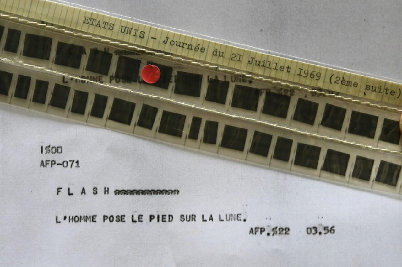 Les premiers pas sur la Lune: le récit de l'AFP le 21juillet 1969