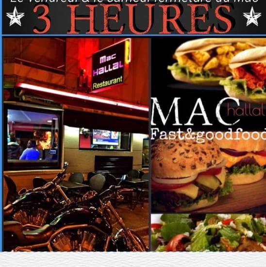 Restaurant : Mac-Hallal  - Mac-hallal  -