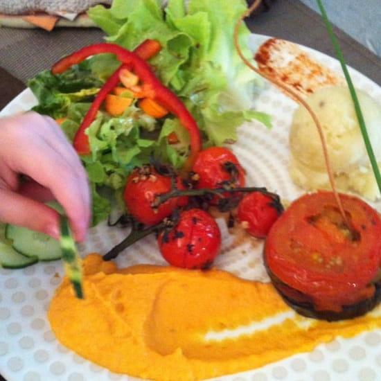 Plat : Le Vigosche  - Assiette de légumes pour un enfant  -