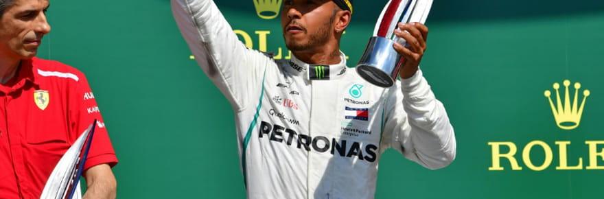 F1: Lewis Hamilton prolonge de deux ans avec Mercedes, jusqu'à fin 2020