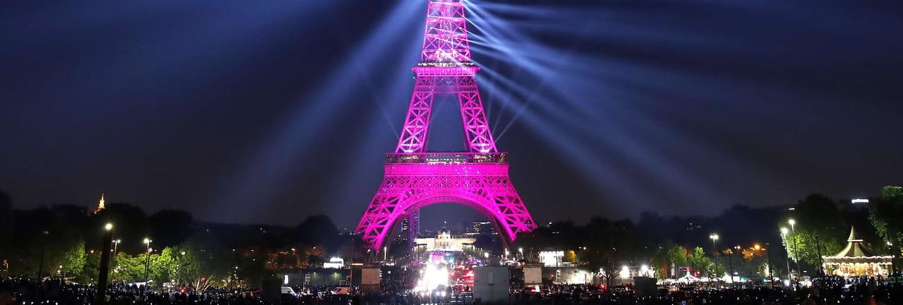 Le show spectaculaire des 130ans de la tour Eiffel