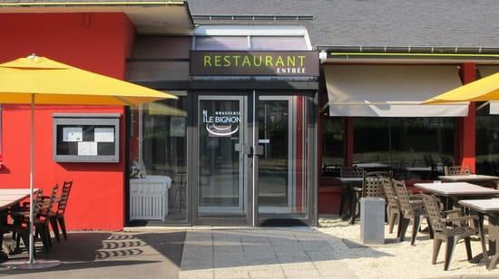 Brasserie Le Bignon  - Entrée Restaurant -
