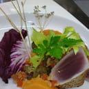 La Brasserie  - Thon mi-cuit, pulpe de patate douce -   © C. Seine
