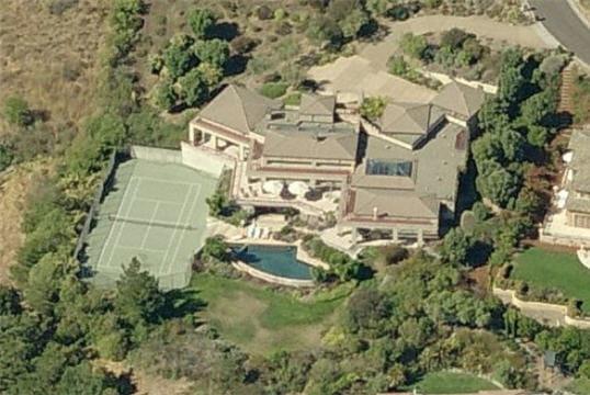 La maison de Steffi Graf et Andre Agassi