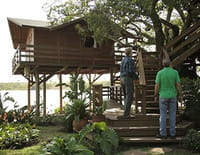 Cabanes perchées : International : Brésil