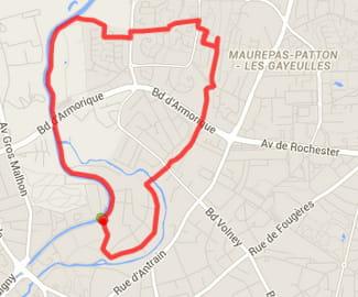 Rennes : la boucle Saint Martin (5,8km)