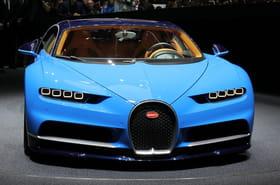 Bugatti Chiron : 20 photos du bolide à 2,4millions d'euros