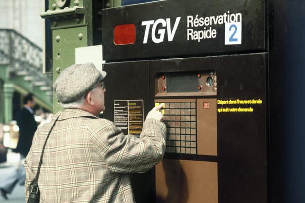 1982: Bornes de réservation TGV