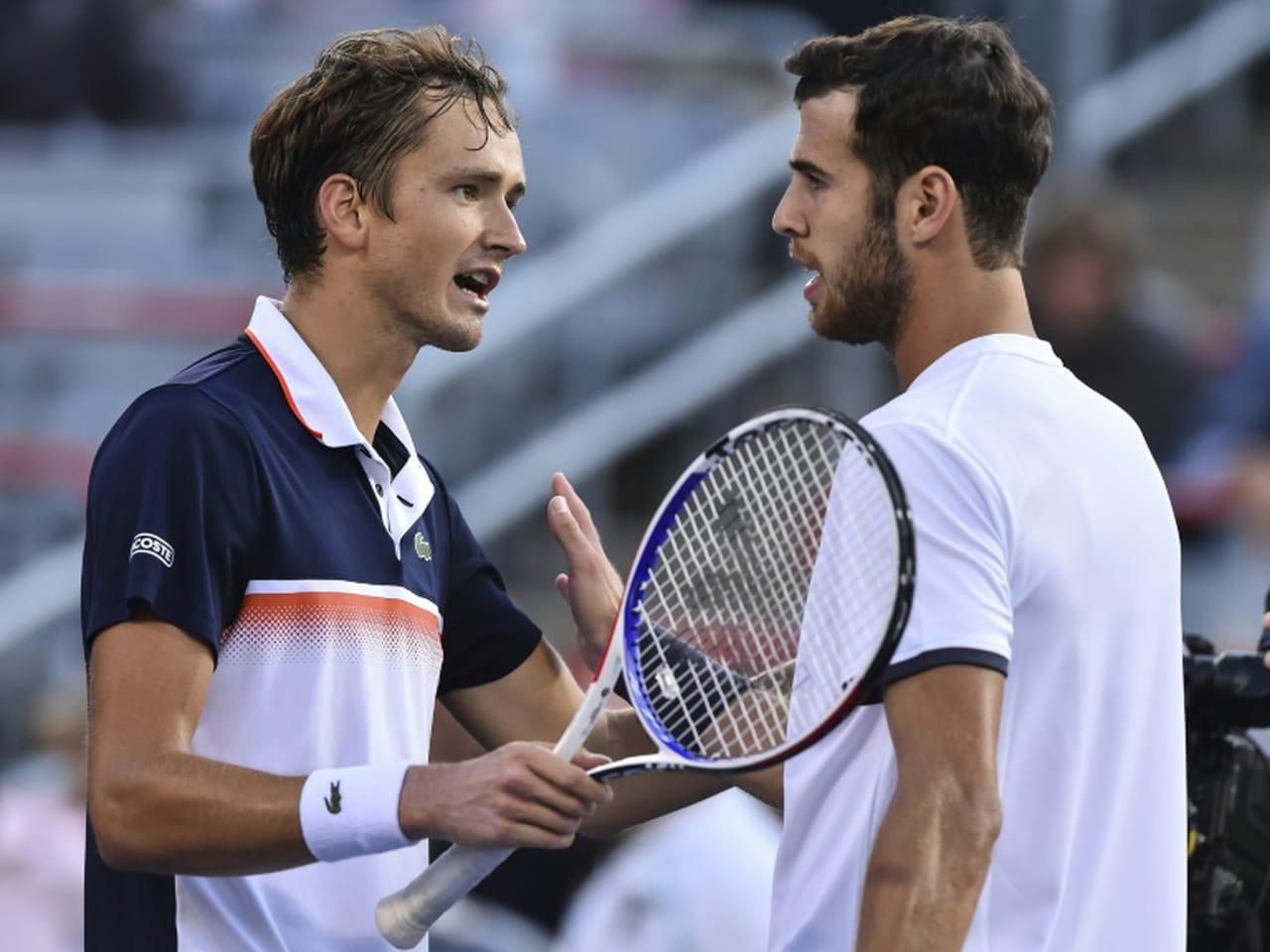 Tennis: une finale Medvedev-Nadal au Masters 1000de Montréal