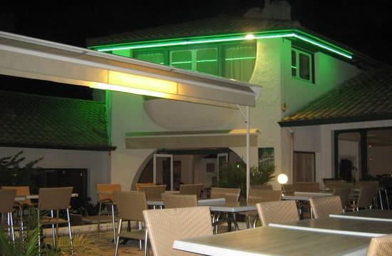 Le Coquillage  - Restaurant Le Coquillage terrasse nocturne -   © Le Coquillage