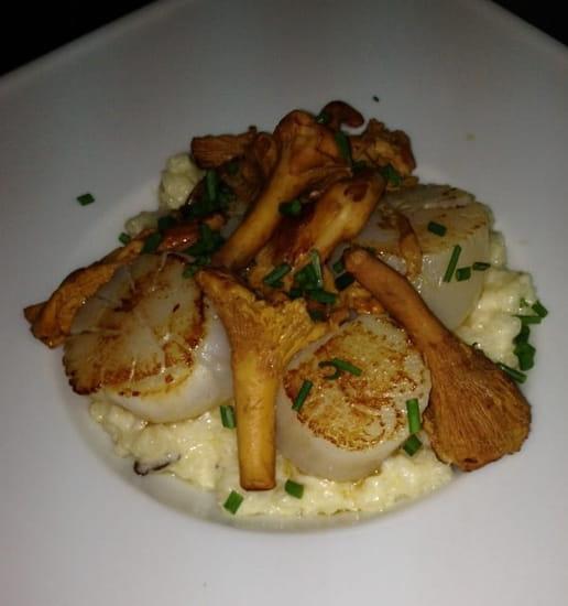 Plat : Le Bistrot Gourmand  - Saint Jacques  -