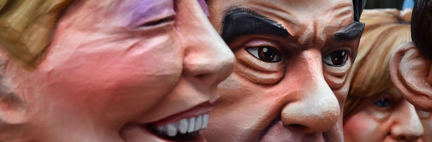 Carnaval de Nice: les politiques ont la grosse tête