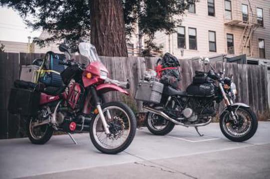 Du jour au lendemain: 18000km à moto à travers l'Amérique