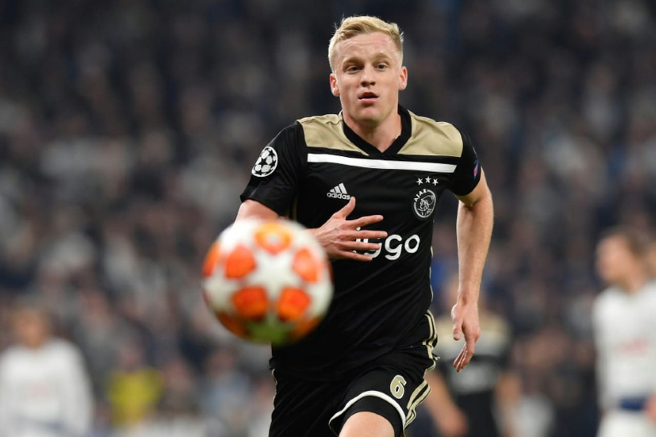 Ligue des champions: l'Ajax bat Tottenham 1-0à Londres en demi-finale aller