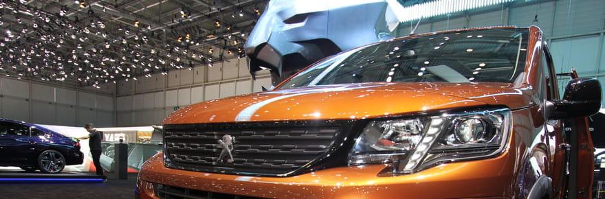 Le nouveau Citroën Berlingo et le Peugeot Rifter en images