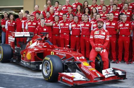 Fernando Alonso chez Ferrari
