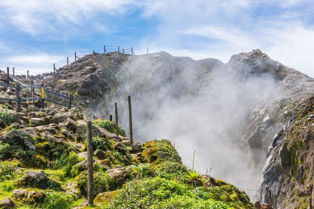 Le volcan de la Citerne