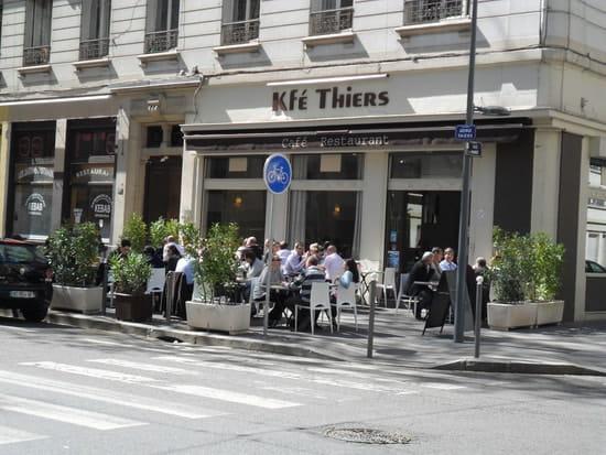 Kfé Thiers  - Sa terrasse d'été -   © JPJ