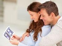 77% des papas assistent aux échographies.
