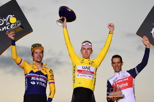 Tadej Pogacar vainqueur du Tour de France 2020, le classement final