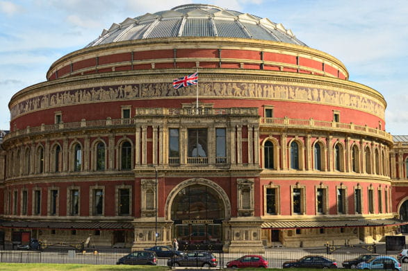 The royal albert hall for Door 12 royal albert hall