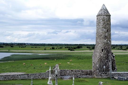Le monastère de Clonmacnoise