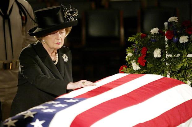 L'adieu à Reagan