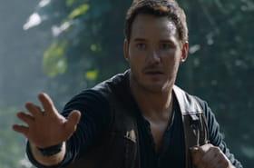Jurassic World 2: Chris Pratt face à des dinosaure et un volcan