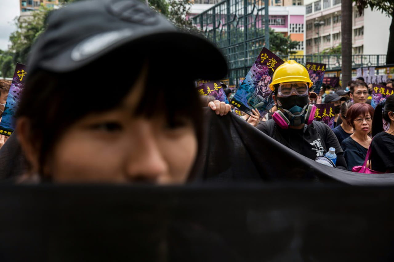 Les contestataires de nouveau dans la rue à Hong Kong, malgré les avertissements chinois