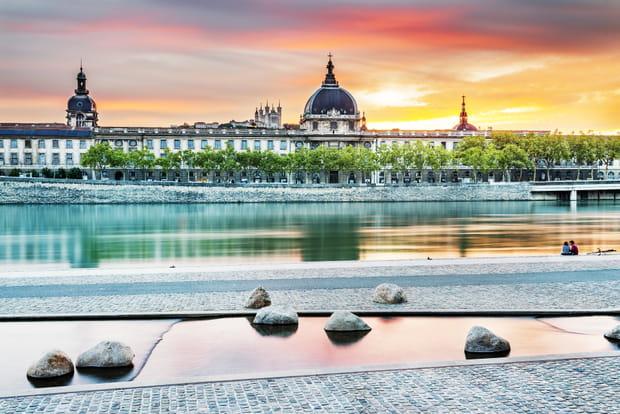 La future Cité de la Gastronomie à Lyon