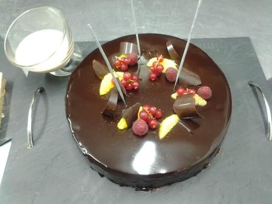 L'Ardoise  - gâteau d'anniversaire -